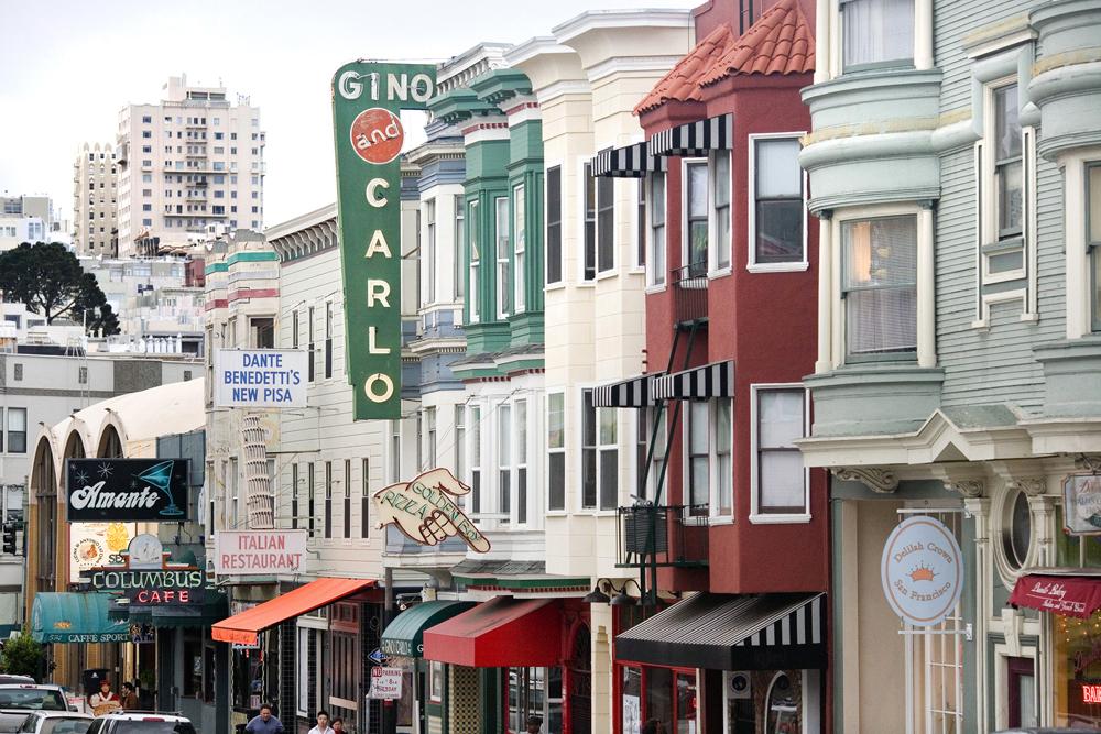 Italian Restaurant San Francisco California Street