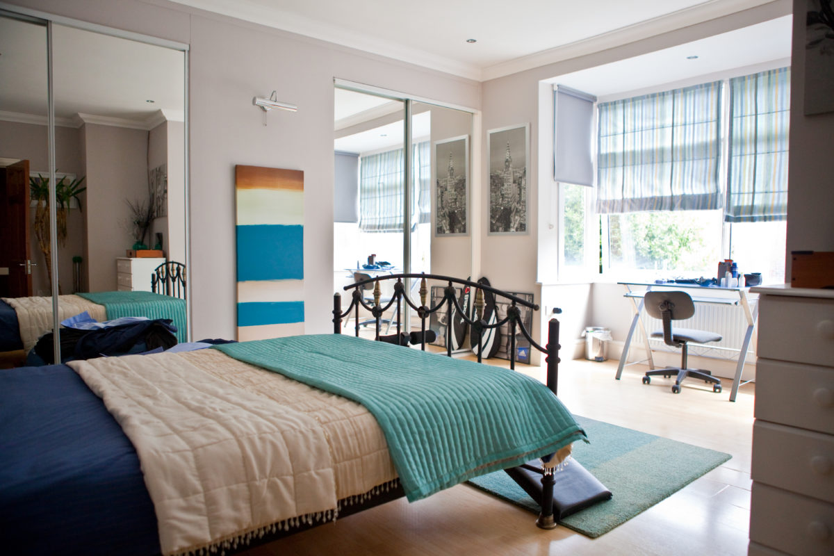 Idee per interni in camera da letto inglese camera modello