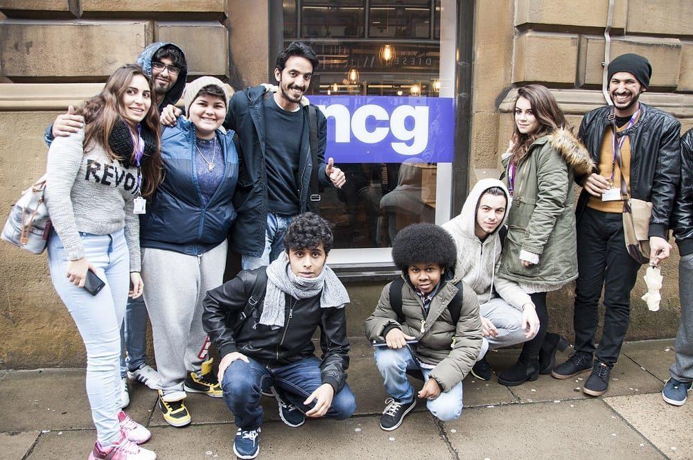 Corsi di inglese vacanza studio alla scuola di lingue NCG Manchester